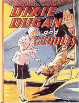 DIXIE DUGAN AND CUDDLES  (Saalfield Jumbo Book  1188, 1940)