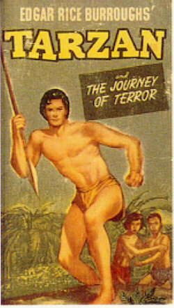 TARZAN AND THE JOURNEY OF TERROR  (New Whitman Better Little Book  709-10, 1950)