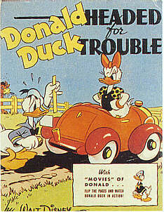 DONALD DUCK HEADED FOR TROUBLE  (Whitman Better Little Book  1430, 1942)